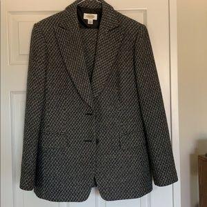 Tweed pantsuit